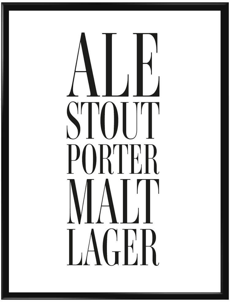 Beers poster