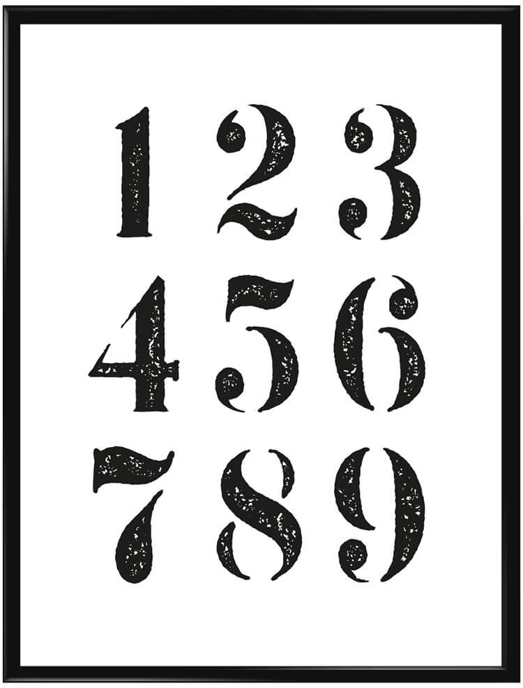 Numbers #2 poster