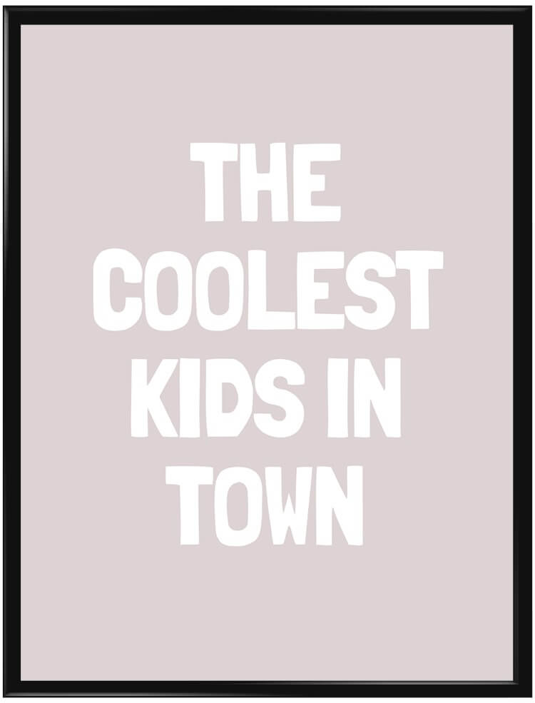 Rosa The Coolest Kids in Town poster