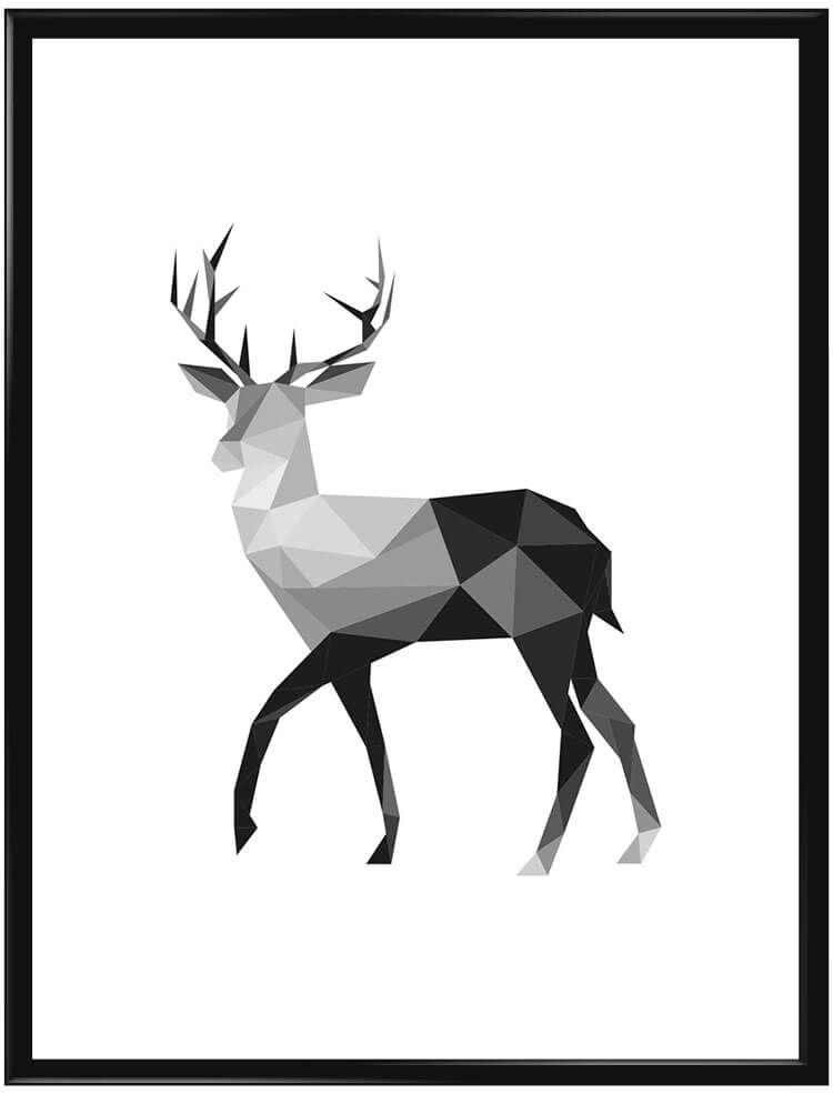 hexagonal-deer