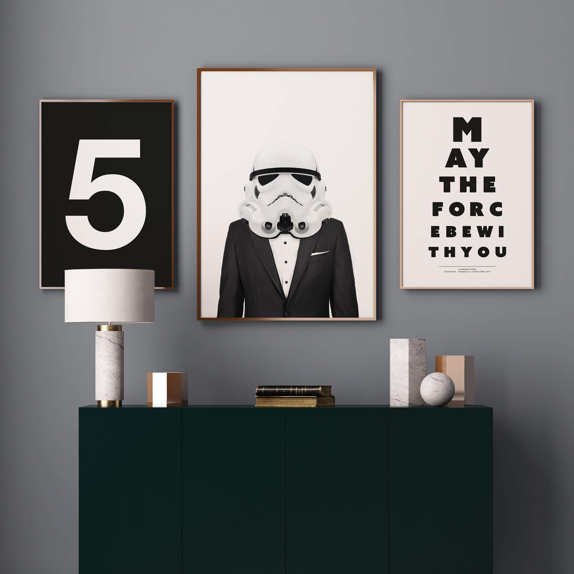 Classy Stormtrooper poster