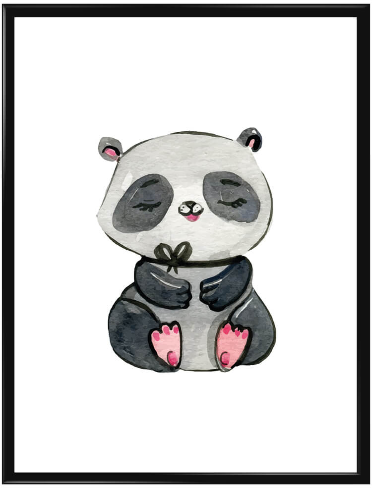 watercolor-panda