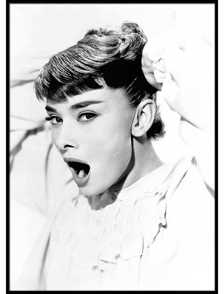 Good morning Audrey poster