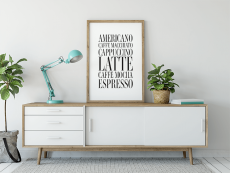 Coffees poster