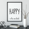 Happy Is The New Black poster