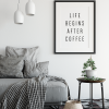 Life Begins After Coffee #1 poster