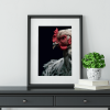 Dramatic hen poster
