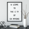 City of champions poster